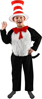 Dr. Seuss Cat in the Hat Deluxe Costume Kit for Kids (M 8-10)