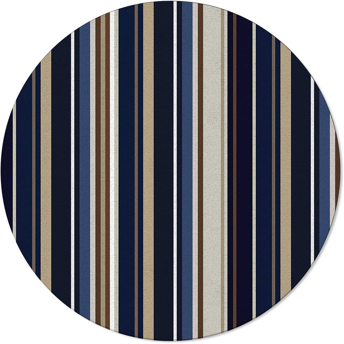 depot ARTSHOWING Geometric Area Rug gift Dining Living Non-Shedding Round