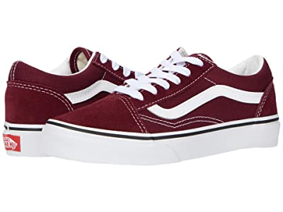 Vans Kids Old Skool (Little Kid) (Port Royale/True White) Boys Shoes