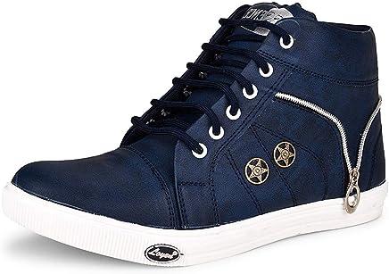 Essence Men's Vc 3101 High Top Synthetic Shoes - Black