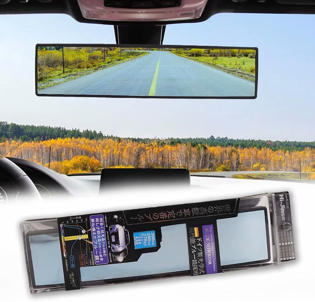 NINGFIST Broadway Very popular Panoramic Rear View Max 82% OFF Wide Mirror Car Angle