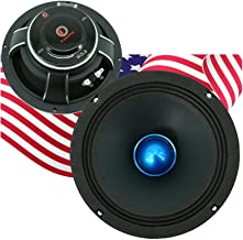 $53 » Gravity WZL8 8″ Midrange Bullet Loud Speaker 1000 Watts Peak Power Handling 4 Ohm Impedance 106 dB Sensitivity Car Audio S...