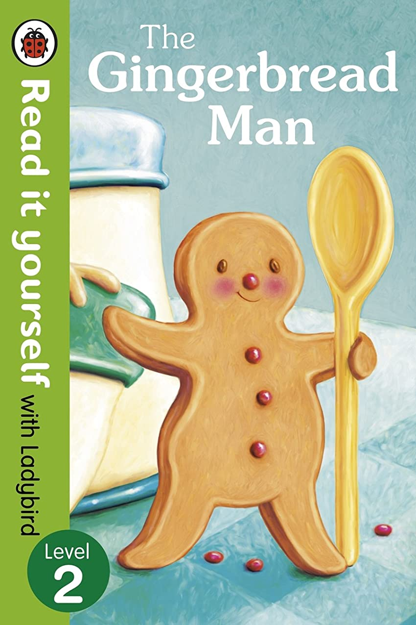 できない補正死の顎The Gingerbread Man - Read It Yourself with Ladybird: Level 2 (English Edition)