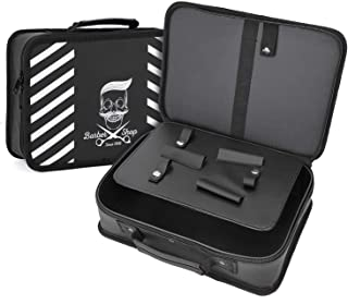 Barber Carrying Case, Segbeauty 11.8 x 8.5in Hair Styling Travel Tool Bag, Professional Salon Hair Cutting Grooming Kit St...