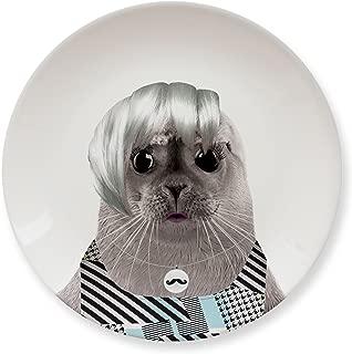 MUSTARD Ceramic Dinner Plate I Dishwasher safe I Dinnerware - Wild Dining Seal