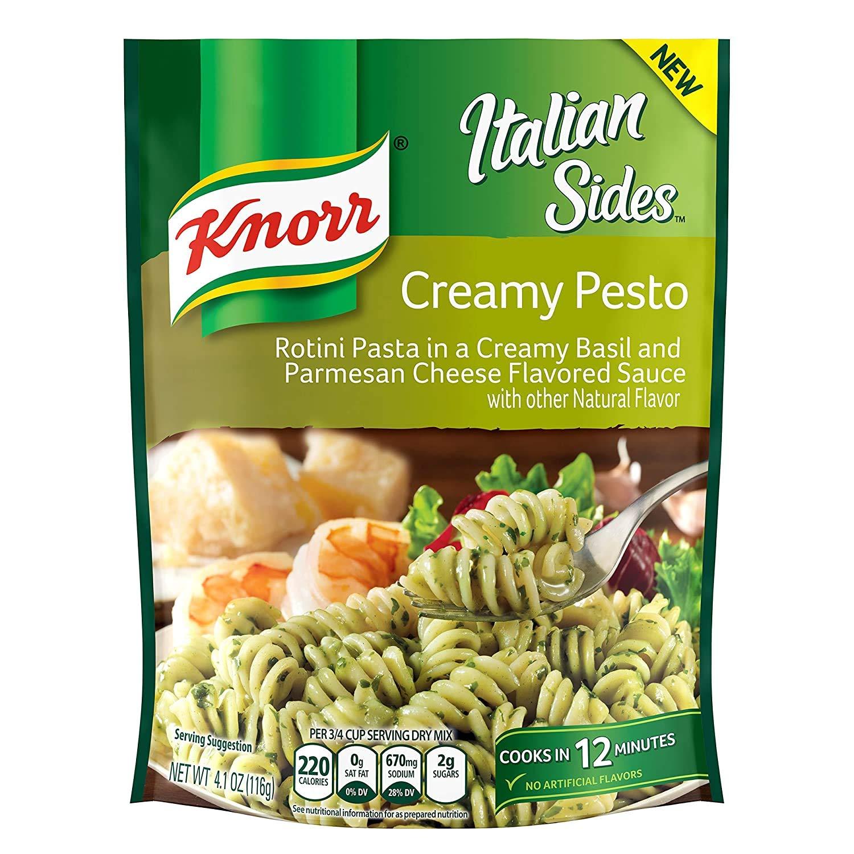 Knorr Pasta Seattle Mall Side Dish Creamy Pesto Rotini 8 4.1 pack Luxury goods oz