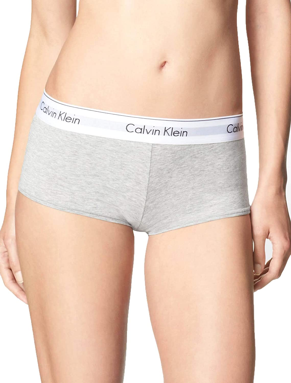 Calvin Klein Women's Modern Cotton Boyshort Panty at  Women's Clothing store