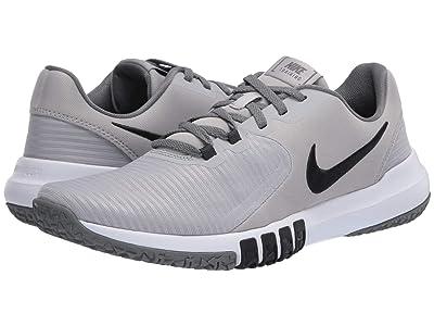 Nike Flex Control 4 (Light Smoke Grey/Black/Smoke Grey) Men