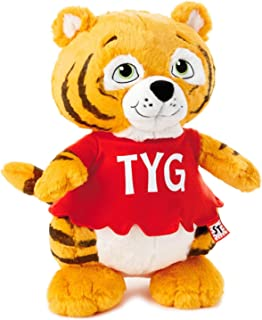 Hallmark Shirt Tales Tyg Tiger Stuffed Animal, 14