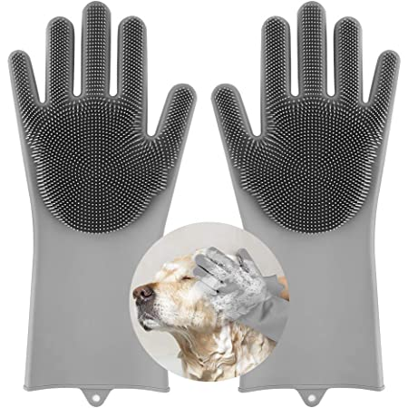 AJB Pet Grooming Gloves Dog Cat Bathing Shampoo Brush,Advanced Silicone  Hair Removal Gloves with high Density Teeth for Cats,Dogs : Amazon.in: Pet  Supplies