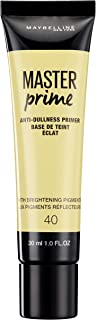 Maybelline New York Master Prime Foundation Primer - 30 ml, Anti Dullness 40