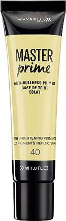 Maybelline New York Master Prime Foundation Primer - 30 ml, Anti Dullness 40