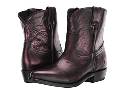 Frye Billy Short (Blackberry) Cowboy Boots