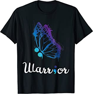 Warrior Suicide Prevention Awareness Love Support Life Tee