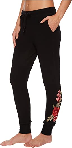 P.J. Salvage Rock 'N Rose Jogger Pants