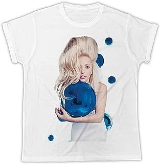 New Lady Gaga Joanne Album Musique à Manches Longues T-Shirt Noir Taille S-3XL