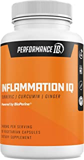 Premium Anti Inflammation & Joint Support Turmeric Curcumin 95% Curcuminoids with BioPerine & Ginger 2400mg per Serving Ex...
