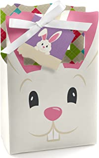 Hippity Hoppity - Easter Bunny Party Favor Boxes - Set of 12