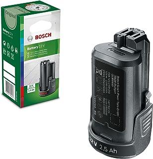 Bosch utbytbart batteri PBA 12 volt (litiumjon, 2,5 Ah), 1 st, 1600A00H3D