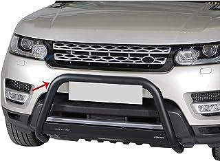 OMAC Auto Accessories Bull Bar | Protetor de para-choque dianteiro de aço inoxidável | Protetor de grelha preto serve para...