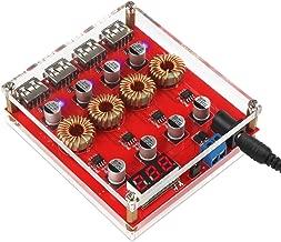 DROK Buck Converter Voltage Regulator DC 8-30V to DC 5V Power Supply Transformer Charge Adapter Module 4 USB Port Support QC 3.0 2.0 Fast Charging