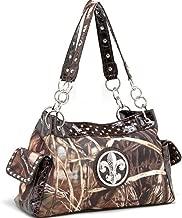 Dasein in Realtree Purses Camo Handbags Camouflage Rhinestone Tote Satchel Shoulder Bag