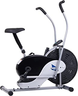 Body Rider Exercise Upright Fan Bike (with UPDATED Softer Seat) Stationary Fitness/Adjustable Seat BRF700