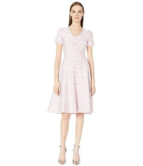 Zac Posen Knit Flower Dress