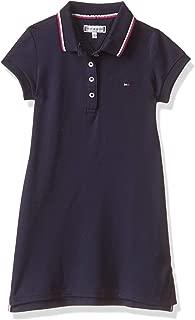 TOMMY HILFIGER Girls KG0KG04270-Navy Blue Dresses