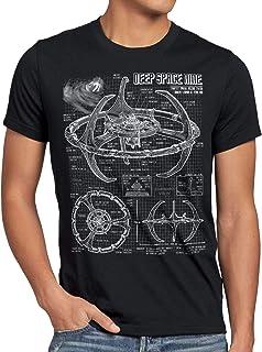 style3 Espacio Profundo Nueve Camiseta para Hombre T-Shirt