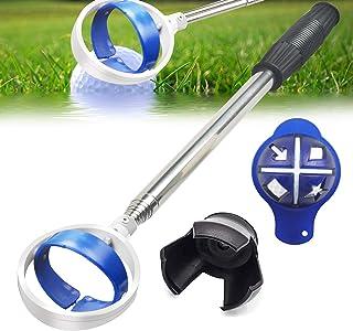 Golf Ball Retriever, Extendable Golf Ball Retriever for Water [Longest 78.7``/106``] w/Golf Ball Pick Up Retriever Grabber...