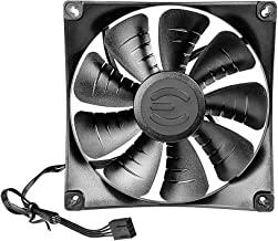 EVGA FX 140mm Fan, Teflon Nano-Steel Bearing, Improves Chassis and Radiator Performance, 3 Year Warranty 400-HY-FX13-KR