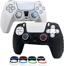 6amlifestyle Cover Skin per Controller PS5 in Silicone Antiscivolo, Grip Protector per Controller Playstation 5 Dualsense ...
