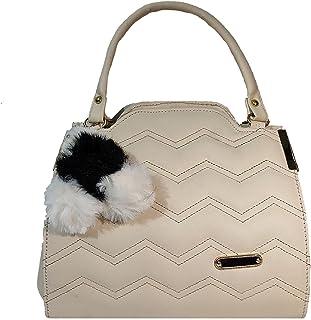 TIMYLAND zigzag style casual handbag