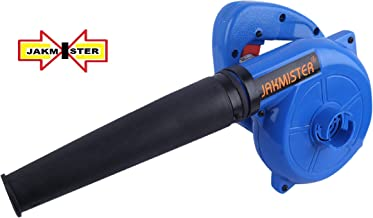 Jakmister Unbreakable Plastic 700 W 16000RPM 90 Miles/Hour Electric Air Blower Dust PC Cleaner (Blue)