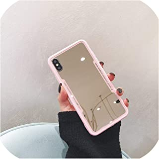 for iPhone 11 Pro Max Case for iPhone XR XS Max for iPhone 7 6s 8 Plus Mirror Phone Case Cute 3D Devil Horn Cover,for iPhone 11 6.1,Pink