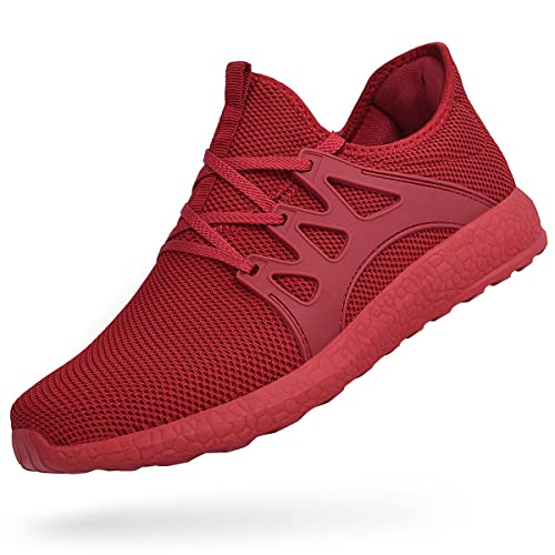 94e188b6f5e4 Feetmat Men s Tennis Shoes Slip On Knit Walking Running Gym Sneakers