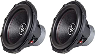 Audiopipe TXX-BD2-15 15 Inch 1800 Watts 4 Ohm Aluminum Dual Voice Coil Car Audio High Power Subwoofer with Aluminum Basket... photo