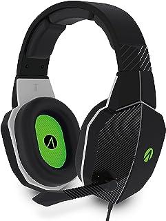 Stealth Phantom X Premium Stereo Gaming Headset - Black and Green
