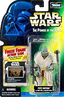 Star Wars Power of The Froce Cantina at Mos Eilsley Diorama with Sandtrooper Action Figure & Patrol Droid by Kenner