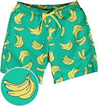 Bright Colored Men's Swim Suit Trunks - Vacation Surf Board Shorts for Spring Break