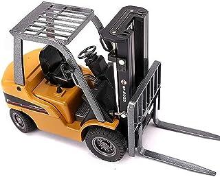 Alloy Forklift Static Model Toy 1/50 Scale Forklift Trucks Alloy Models Fork Truck Vehicle Model Engineering Car Toy Boy Gift