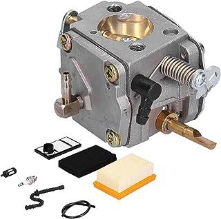 Kit de carburador, Kit de Ajuste del Filtro de Aire con bujía Filtro de Aire para Sierra de Corte de hormigón TS400 Reempl...