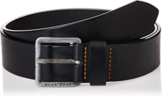 Hugo Boss Jeeko Men's Orange BOSS Italian Leather Belt