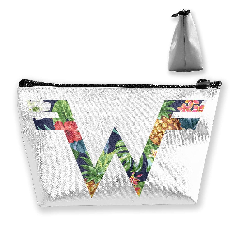 ジャベスウィルソン望遠鏡十分収納袋 コスメポーチ 筆箱 台形 化粧品入れ 高級品 軽い 大容量 普段使い 学生 サラリーマン 出張 スポーツ 多機能 贈り物 Weezer Logo 花柄