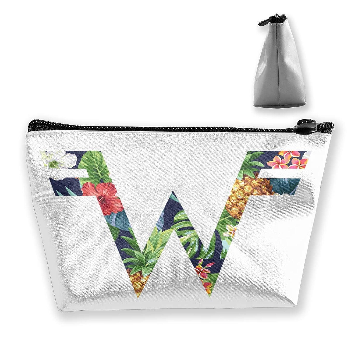 くるくるラブ農場収納袋 コスメポーチ 筆箱 台形 化粧品入れ 高級品 軽い 大容量 普段使い 学生 サラリーマン 出張 スポーツ 多機能 贈り物 Weezer Logo 花柄