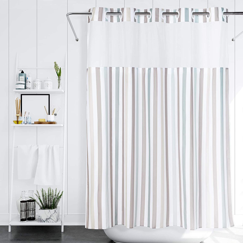 Lagute SnapHook Stijl Hook Max Tucson Mall 85% OFF Free Shower x 71 74 L Curtain in