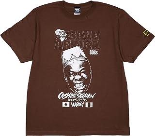 (ハードコアチョコレート) HARDCORE CHOCOLATE オスマン・サンコン (阿弗利加ダークブラウン)(SS:TEE)(T-1590-BR) Tシャツ 半袖 カットソー ギニア 1コン2コン・サンコン 国内正規品