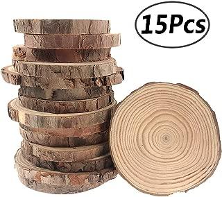 Best wood slice plates Reviews