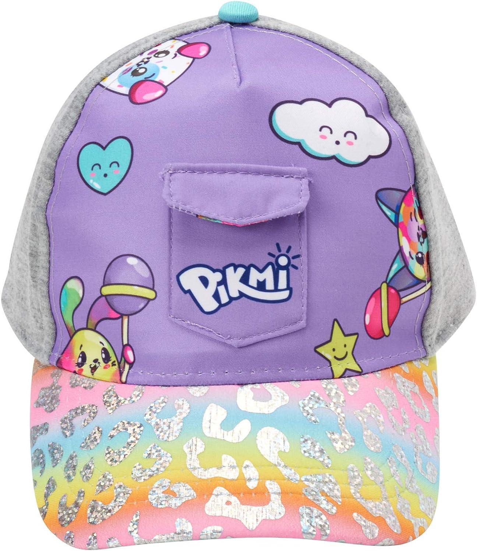Pikmi Pops Girls' Cotton Baseball Cap